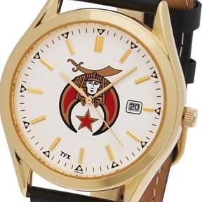 Bulova Men's Gold Plated TFX by Freemason Masonic Shriner Mason Watch