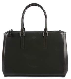 Anya Hindmarch Patent Leather Handle Bag