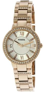 Fossil Women's ES3284 Virginia Stainless Steel Watch, 29mm