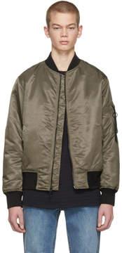 Rag & Bone Brown Manston Bomber Jacket