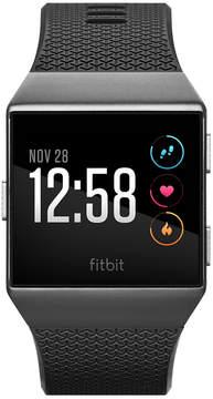 Fitbit Unisex Ionic Smoke Gray Elastomer Strap Smart Watch 35mmx32mm