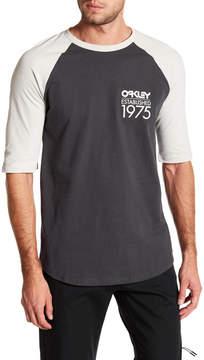 Oakley Palm Baseball Graphic Tee