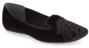 J. Renee Women's 'Slipsleigh' Santa Embroidered Loafer