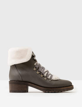 Boden Shearling Ankle Boots