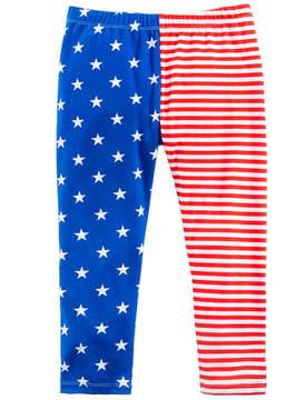 Epic Threads American Flag Printed Capri Leggings, Big Girls, Created for Macy's