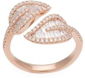 Anita Ko small leaf ring