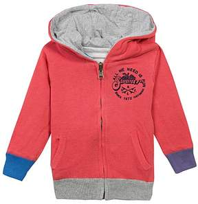 Catimini Dark Orange 'Summer' Front Pocket Hoodie - Boys
