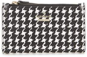 Kate Spade Cameron Street Houndsooth Mikey Bifold Wallet