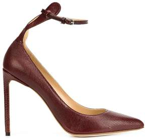 Francesco Russo ankle strap pointy pumps