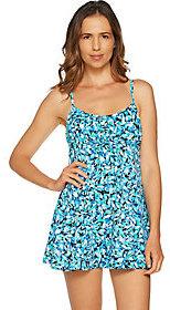 Fit 4 U A Shore Fit! Drawstring Dress Swimsuit