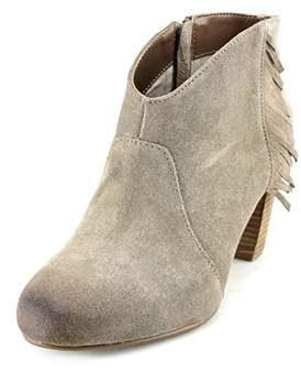 Tahari Camila Round Toe Suede Ankle Boot.