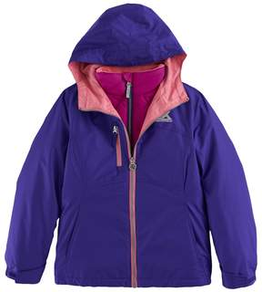 ZeroXposur Girls 6-16 Maddie 3-in-1 All Seasons Systems Jacket