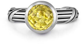 Peter Thomas Roth Fantasies Silver 1.40 Ct. Lemon Citrine Ring