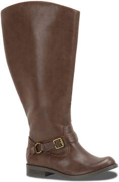 Easy Street Shoes Women's Quinn Extra Wide Calf Riding Boot