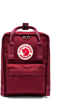 Fjallraven Kanken in Red.