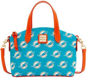 Dooney & Bourke Miami Dolphins Ruby Mini Satchel Crossbody - AQUA - STYLE