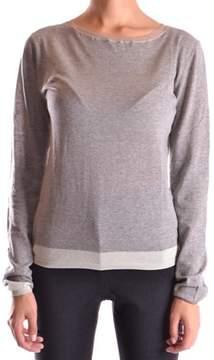 BP Studio Women's Grey Cotton Jumper.