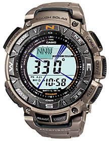 Casio Pathfinder Triple Sensor Watch w/ Titanium Band