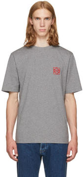 Loewe Grey Anagram T-Shirt