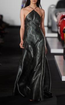 Ralph Lauren Jolene Halter Dress