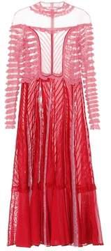 Valentino Lace-paneled dress