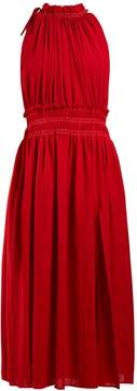 Altuzarra Vivienne gathered cotton dress