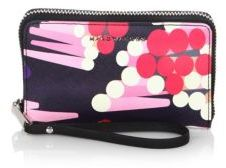 Marc Jacobs Geo Spot Zip Phone Leather Wristlet - MULTI - STYLE