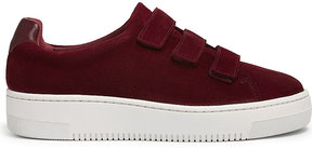 Sandro Suede flatform trainers