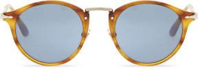 Persol Po3166S Havana Phantos round-frame tortoiseshell sunglasses