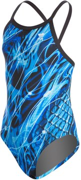 TYR Youth Durafast Mercury Diamondfit One Piece Swimsuit 8136485