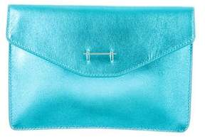 M2Malletier Metallic Envelope Clutch