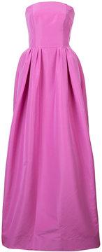 Carolina Herrera solid faille gown