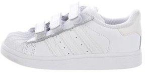 adidas Boys' Superstar Round-Toe Sneakers
