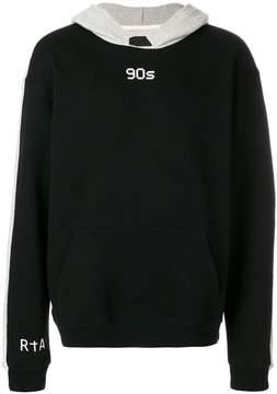 RtA colour-block hoodie