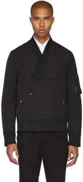 Diesel Black Gold Black Kimono Bomber Jacket