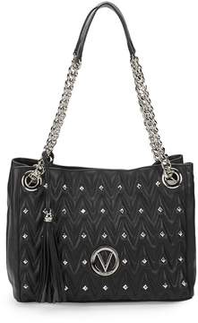 Mario Valentino Valentino by Women's Luisa Studded Chain Shoulder Bag