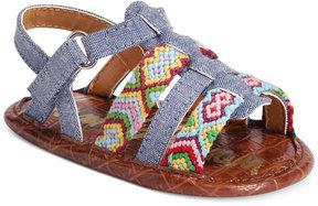 Sam Edelman Noa Chambray Sandals, Baby Girls (0-4)