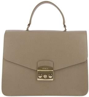 Furla Handbag Metropolis Bag M In Textured Leather With Removable Handle And Shoulder Strap