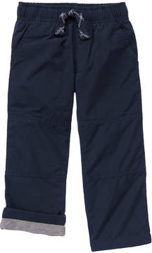 Gymboree Navy Lined Gymster Pants - Infant & Toddler