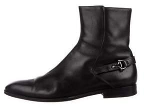 Gucci Horsebit Ankle Boots