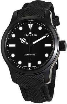 Fortis Shoreliner Lighthouse Black Dial Automatic Men's Watch