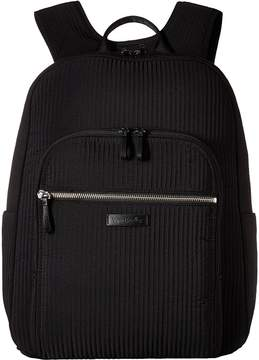 Vera Bradley Iconic Deluxe Campus Backpack Backpack Bags - CLASSIC BLACK - STYLE
