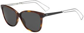Safilo USA Dior Confident 2 Rectangle Sunglasses