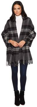 Polo Ralph Lauren Oversized Blanket Plaid Wrap Shawl Scarves