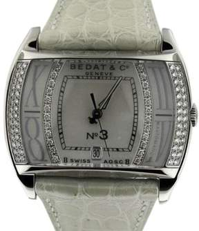 Bedat & Co 307.030.909 Stainless Steel Diamond Dial 36mm Womens Watch