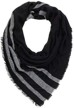 Charlotte Russe Striped Blanket Scarf