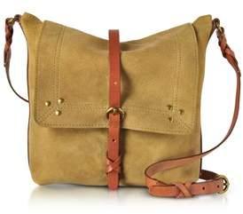 Jerome Dreyfuss Women's Yellow Suede Shoulder Bag.