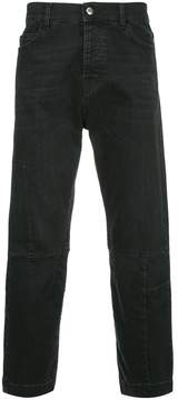 McQ cropped recycled jeans