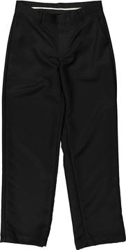 Izod Black Microfiber Pants - Boys