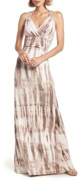Felicity & Coco Women's Tie Dye Jersey Halter Maxi Dress
